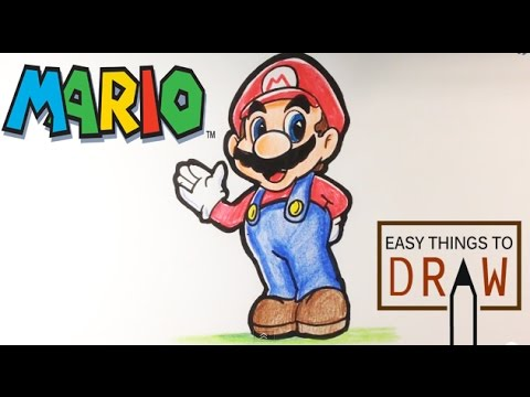 480x360 How To Draw Mario