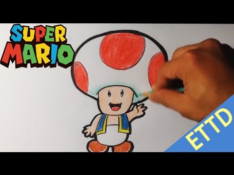 480x360 How To Draw Toad From Super Mario Bros