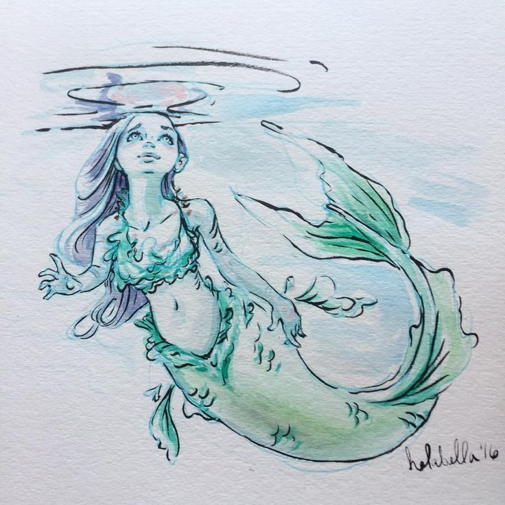 Marmaid Drawing at GetDrawings | Free download