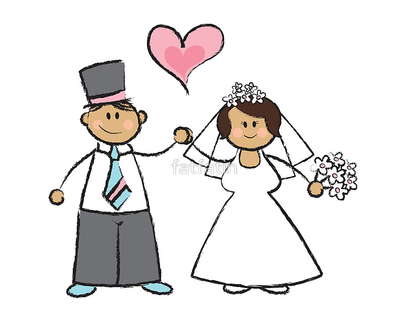 800x650 Just Married! Posters By Fatfatin Redbubble
