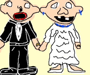 300x250 Ugly People Getting Married