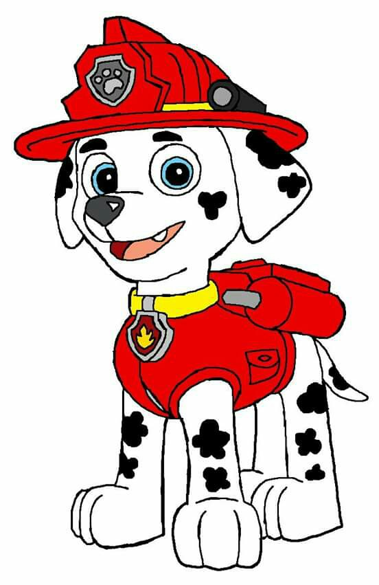 Marshall Paw Patrol Drawing at GetDrawings com | Free for
