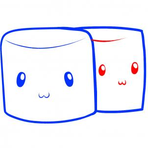 302x302 How To Draw How To Draw Marshmallows