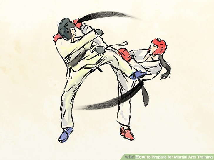 728x546 How To Prepare For Martial Arts Training 12 Steps (With Pictures)