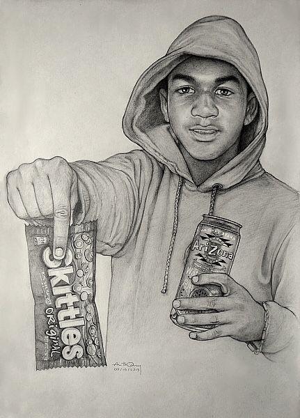 431x600 Arizona And Skittles Trayvon Martin Drawing They Hate Us