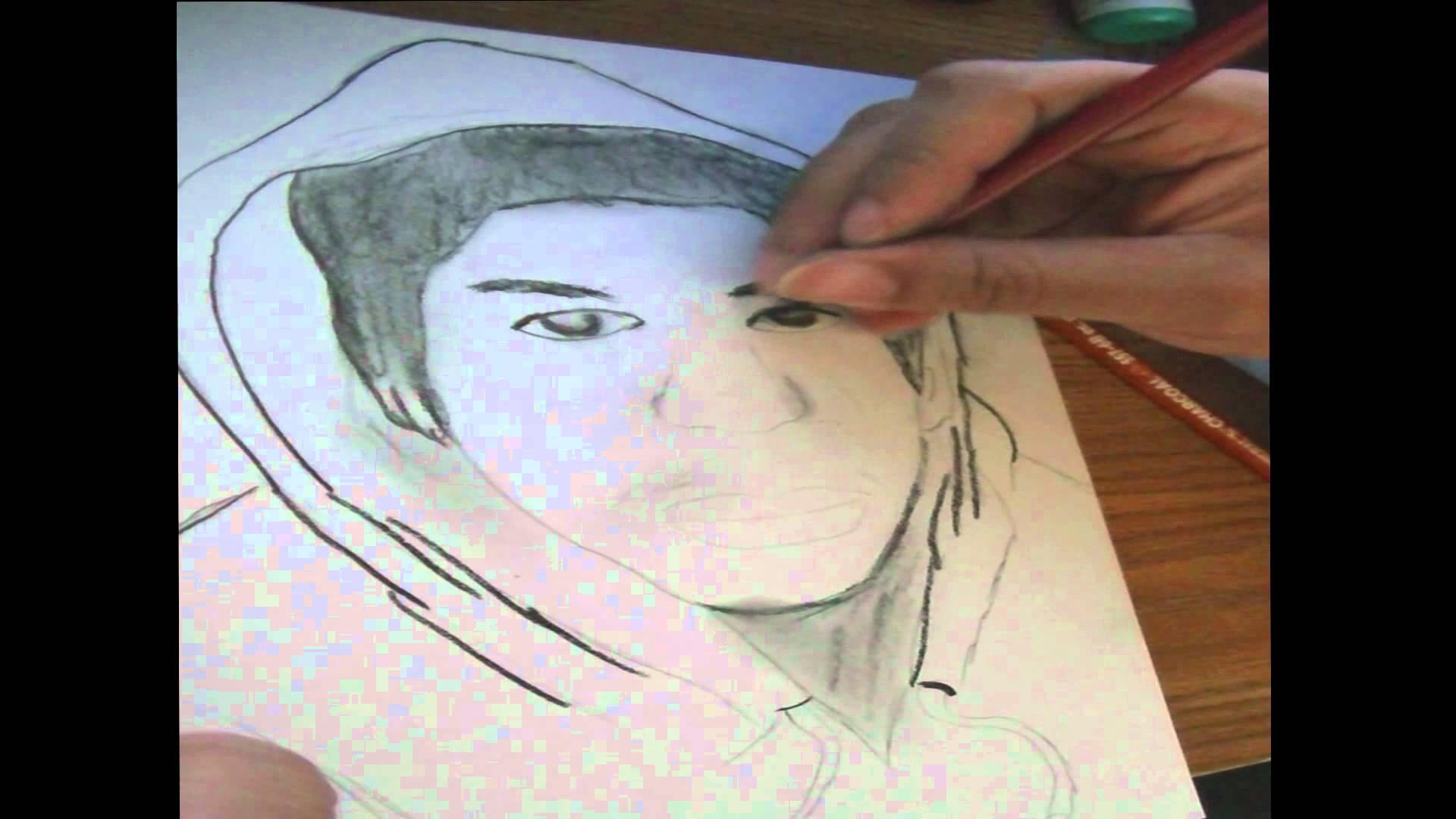 1920x1080 Trayvon Martin Drawing Rip