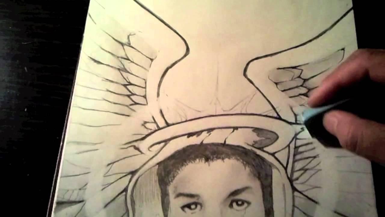 1280x720 Trayvon Martin Tribute Drawing Welcome Home Trayvon Bydj Xtc
