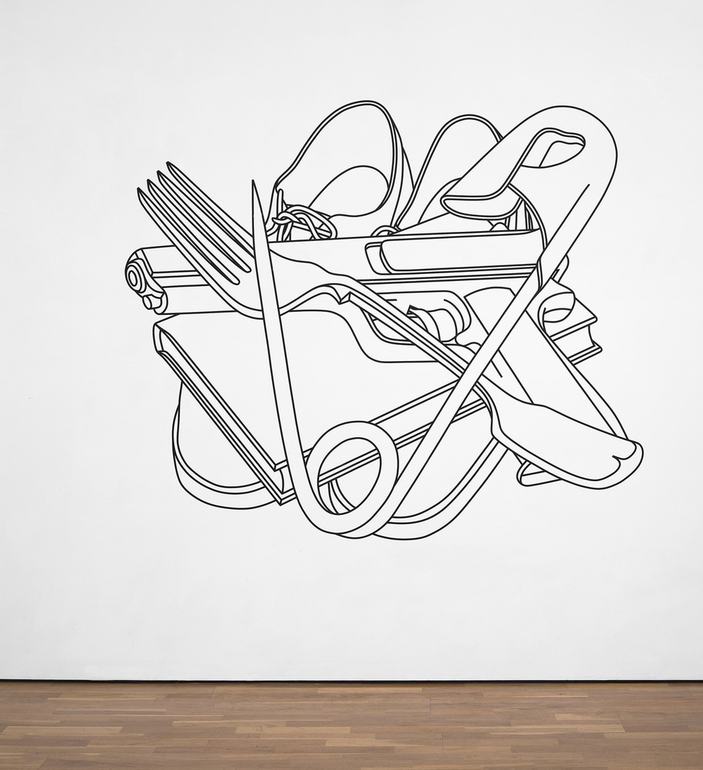 1000x1096 Wall Drawings Amp Other Wall Works Michael Craig Martin