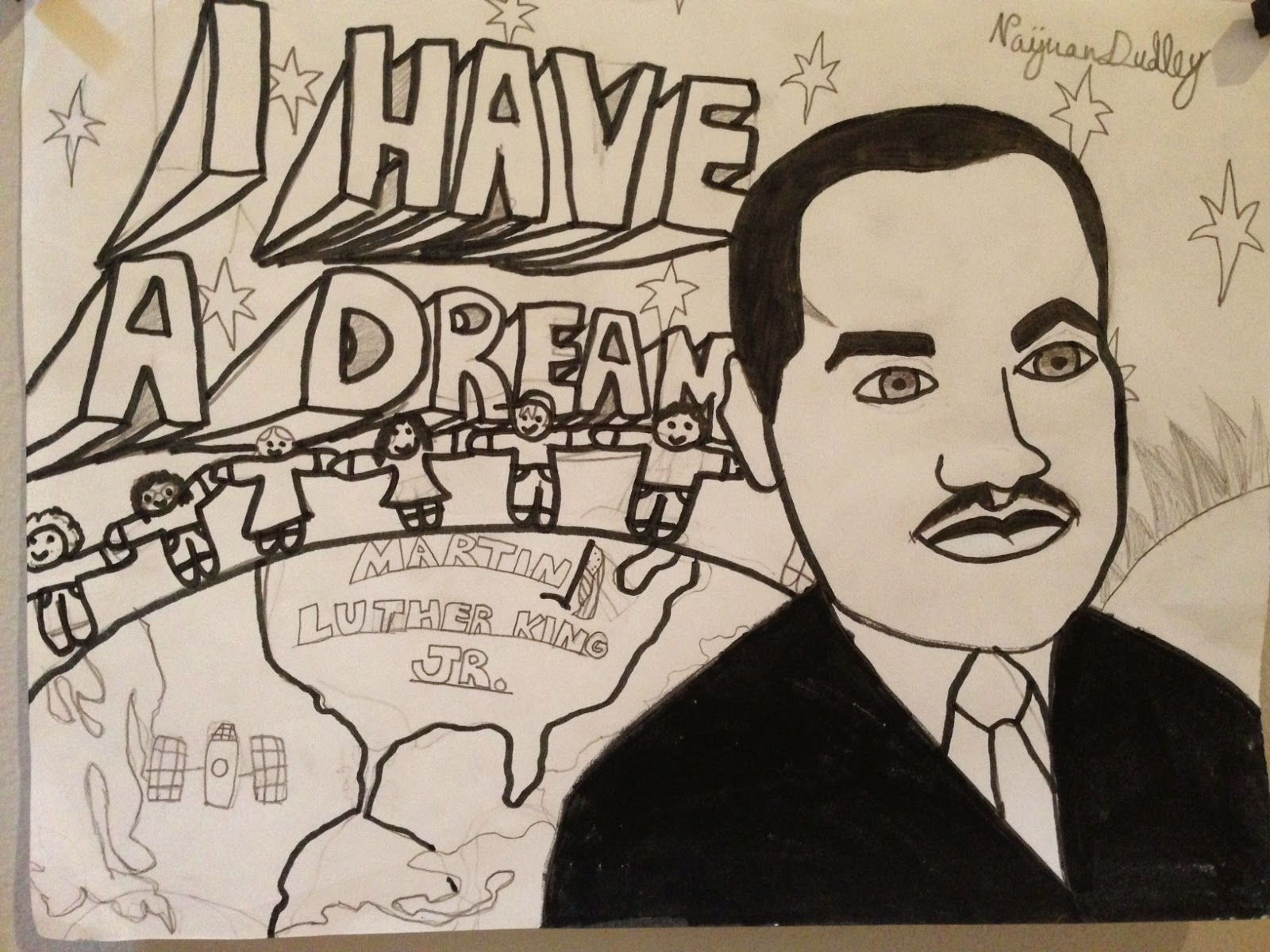 Martin Luther King Drawing At Getdrawings Com Free For