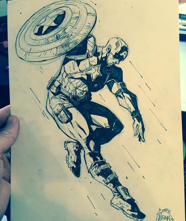 736x877 Gallery Drawings Of Marvel Comics,