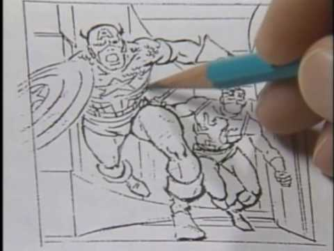 480x360 How To Draw Comics The Marvel Way Part 10