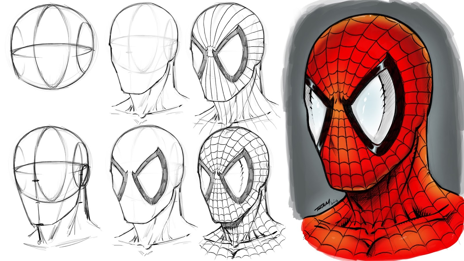 1600x900 Ram Studios Comics How To Draw Marvel Comic Characters Step By