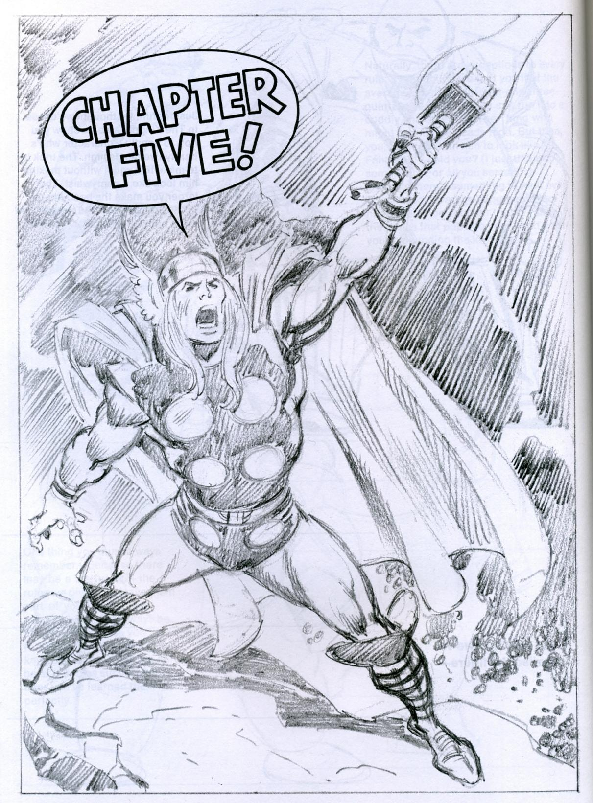 1211x1641 How To Draw Comics The Marvel Way Mars Will Send No More
