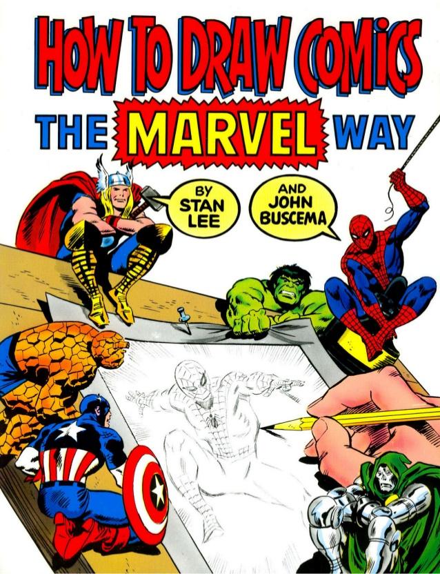 638x832 To Draw Comics The Marvel Way Stan Lee