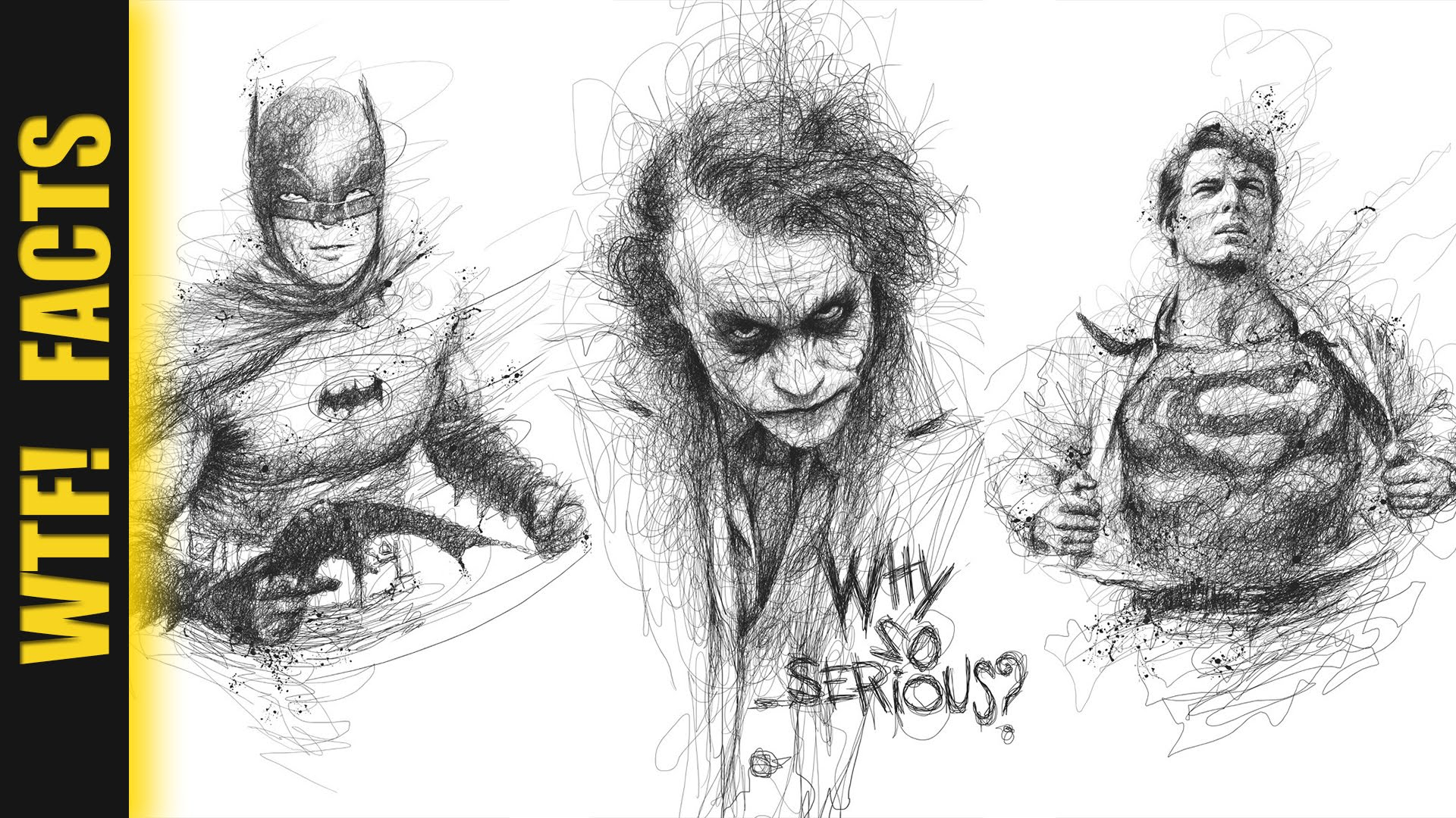 1920x1080 Pencil Sketches Of Marvel Superheroes Incredible Scribbled Pencil