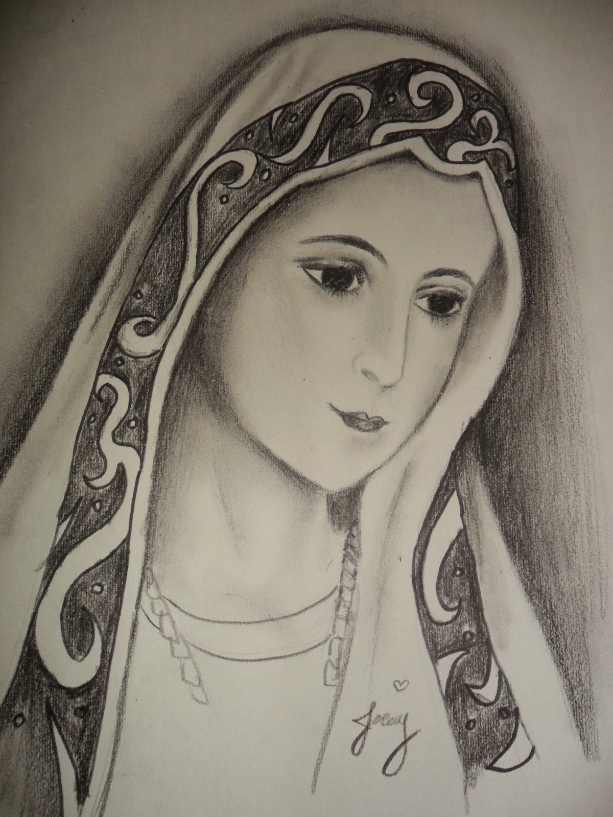 Line Drawing Virgin Mary : Mary drawing at getdrawings free for personal use