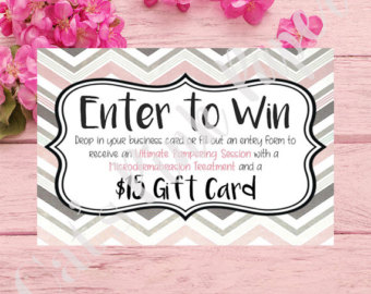 340x270 Digital Raffle Announcement Mary Kay Direct Sales Pink