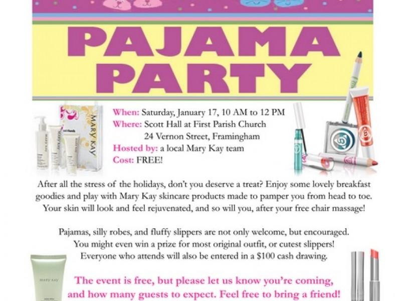 800x600 Mary Kay Pajama Party Saturday Morning Framingham, Ma Patch