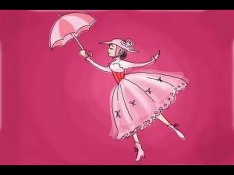 480x360 How To Draw Mary Poppins