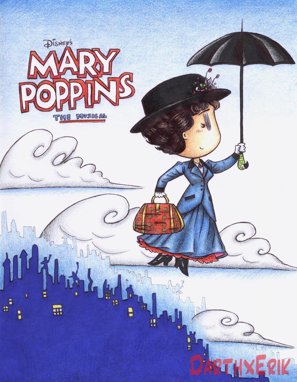 1024x1315 Mary Poppins By Darthxerik