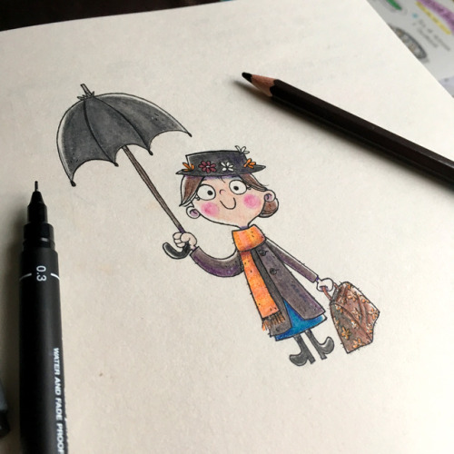 500x500 Mary Poppins Drawing Tumblr