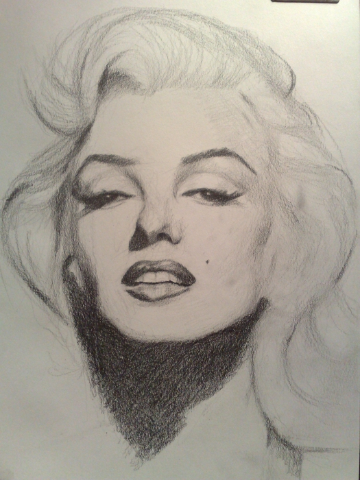 525x700 Marilyn Monroe By Deadpixel This Image First Pinned To Marilyn