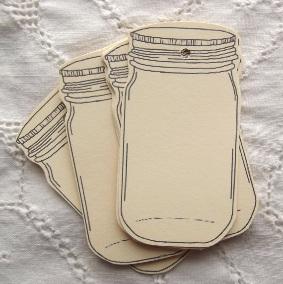 570x571 Mason Jar Labels Gift Tags Crafts Pinterest