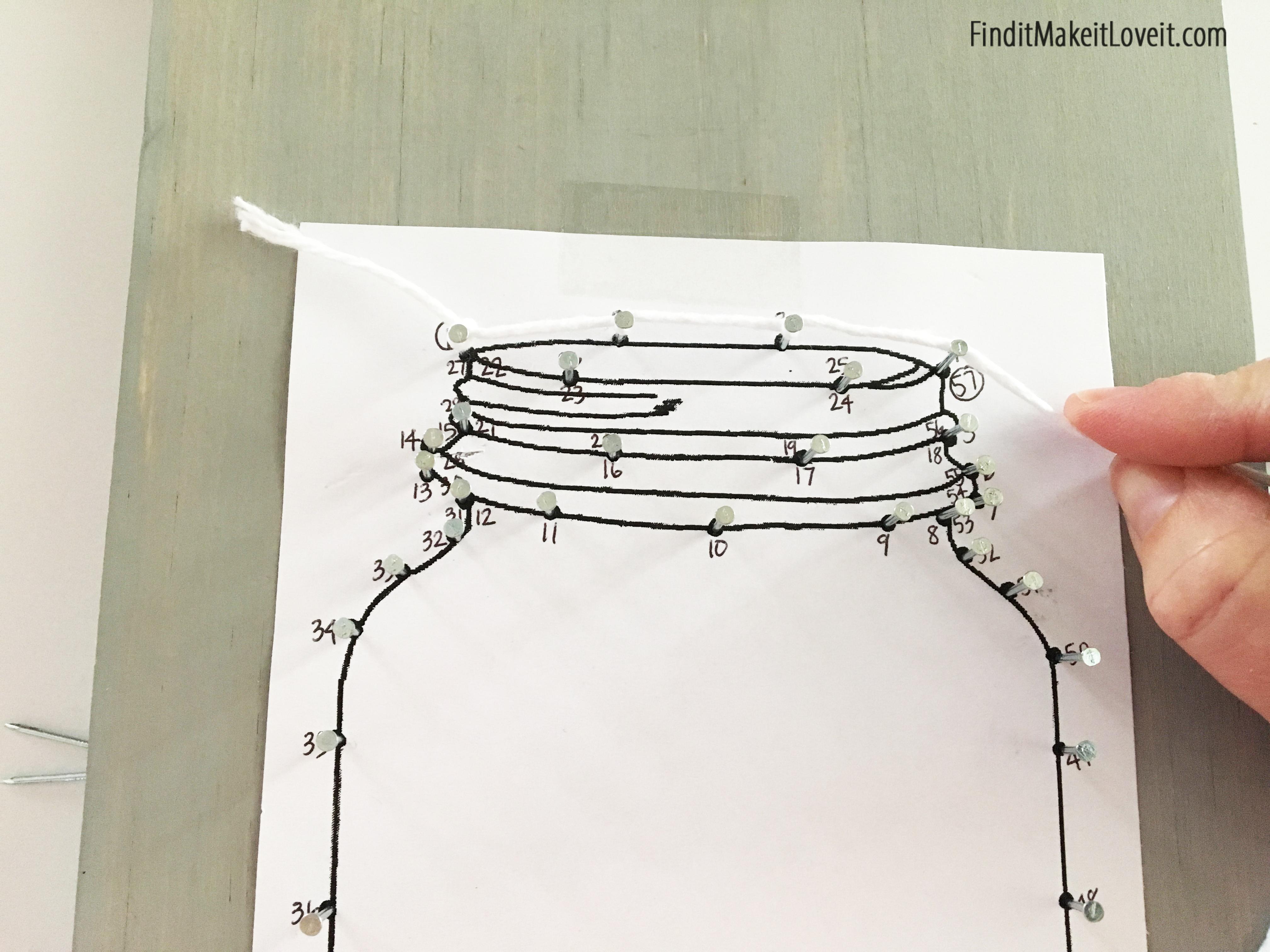 4032x3024 Mason Jar String Art