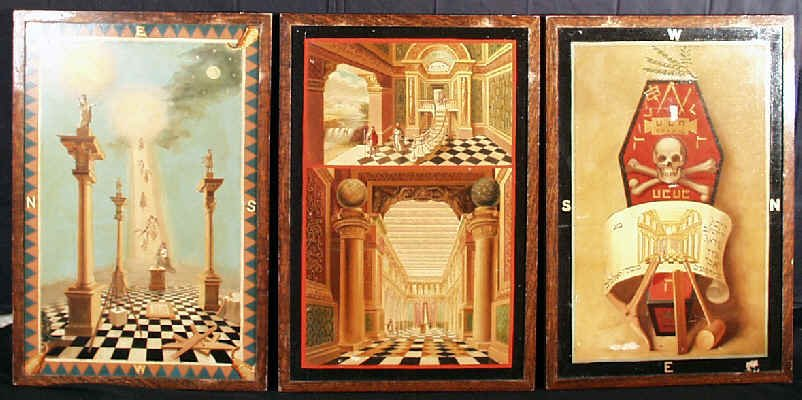 802x400 Masonic Tracing Boards From St. Andrew's Lodge