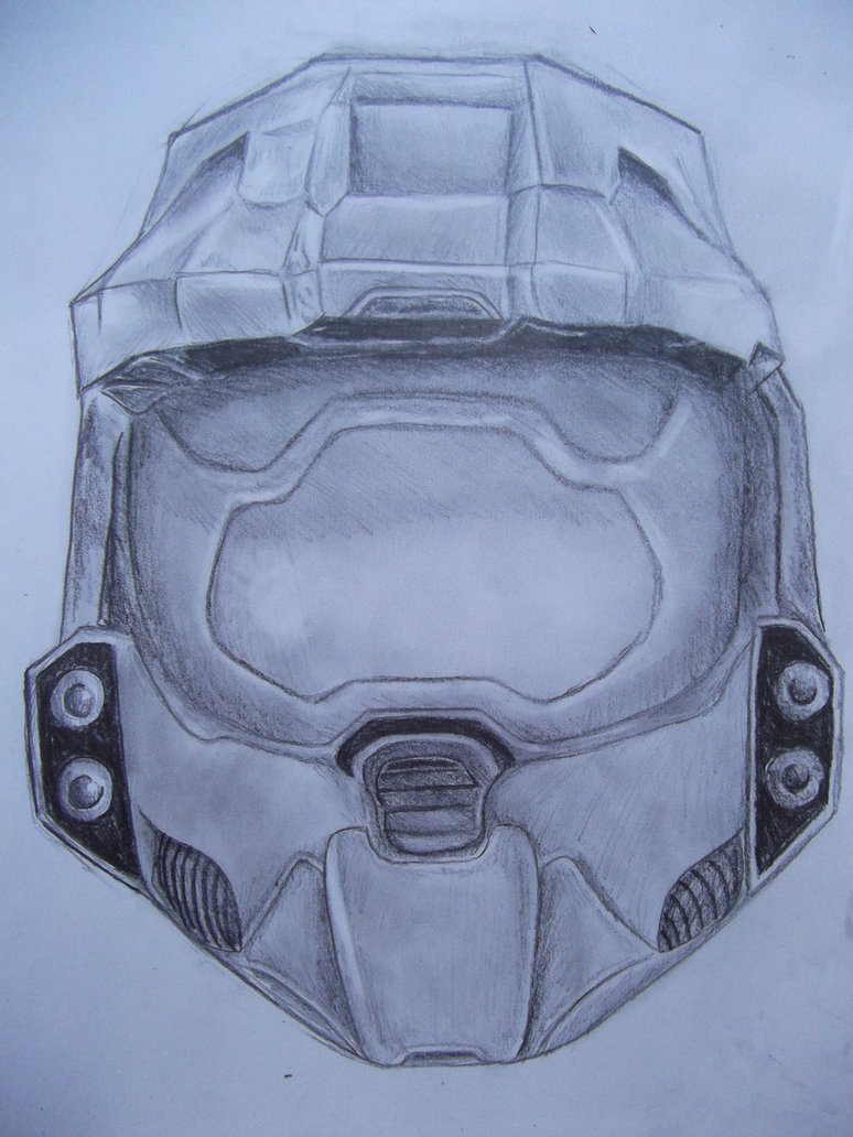 774x1032 Halo Master Chief Helmet By Freakzzzzz