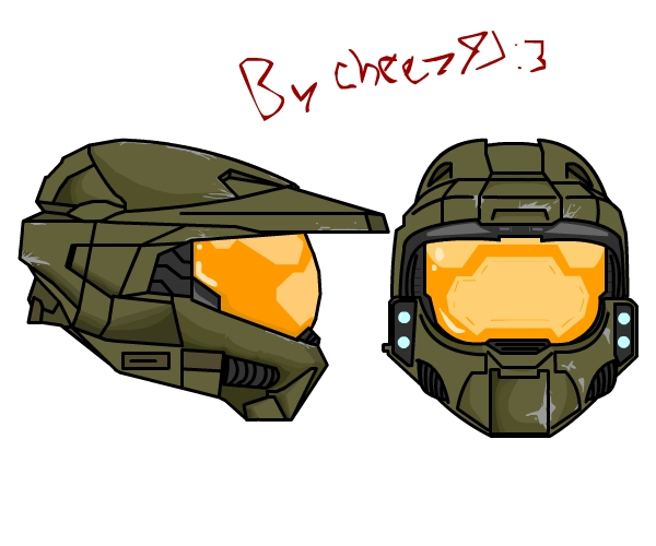 600x500 Master Chief Helmet +mark Vl  By Cheez47