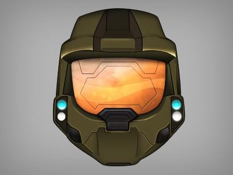 Master Chief Helmet Drawing At Getdrawings Com Free For