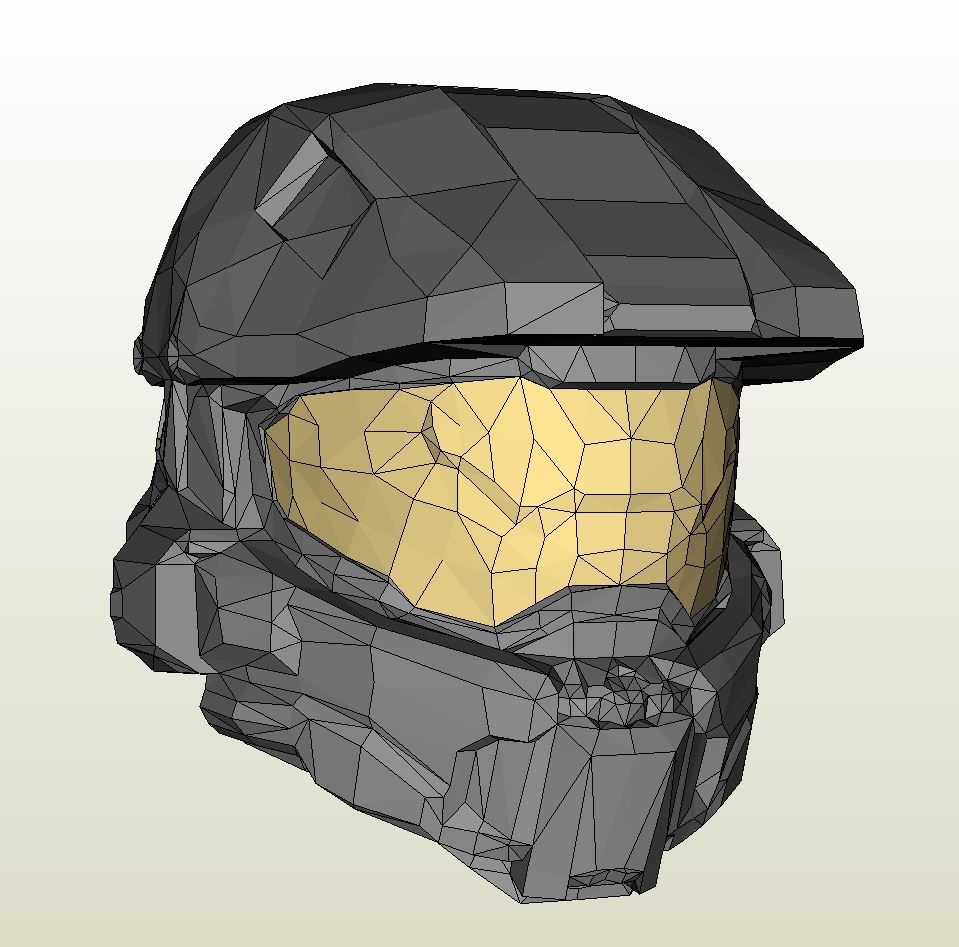 959x947 Papercraft Pdo File Template For Halo 4