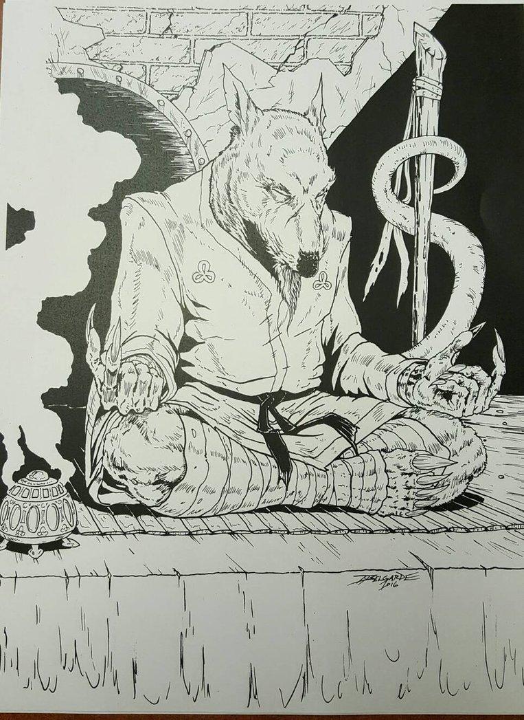 763x1047 Master Splinter By Vassago