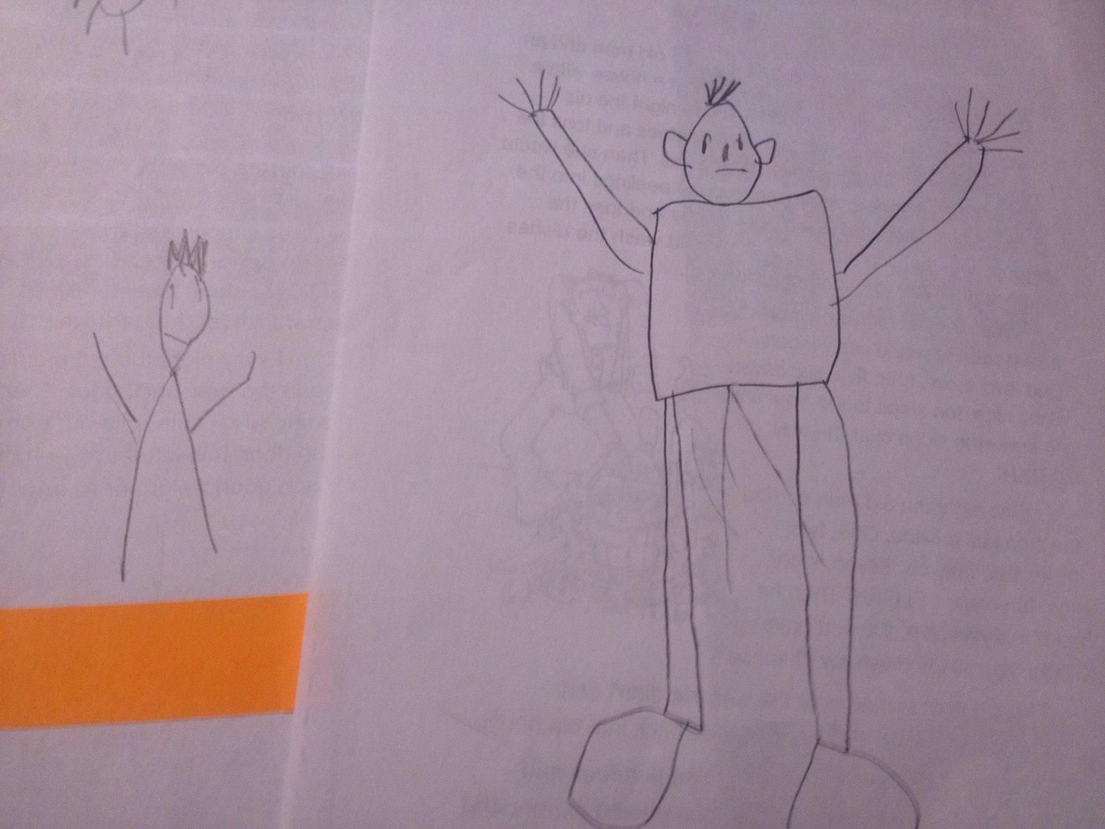 1600x1200 Mat Man Teach A Child How To Draw A Person Using Handwriting