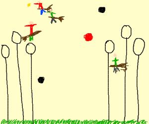 300x250 A Quidditch Match