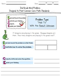236x295 Addition Subtraction Bar Models Common Core Story Problems