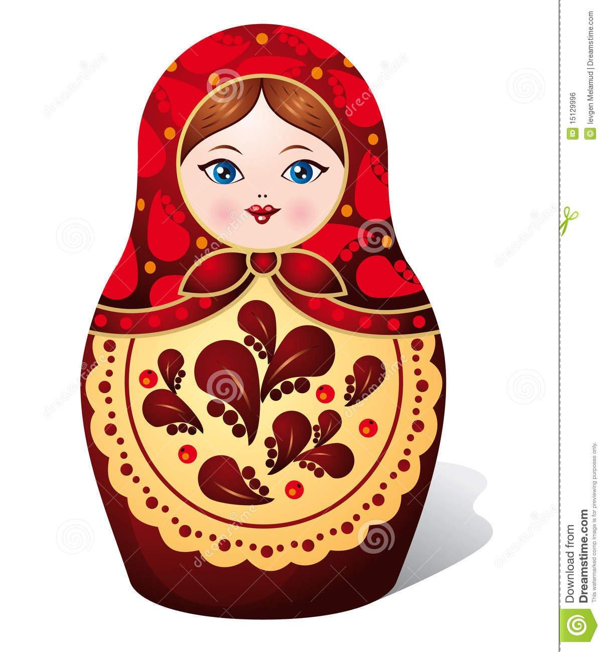 1204x1300 Matryoshka Doll Draw