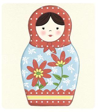 320x365 Pin By Promenons Nous On Matriochka Dolls