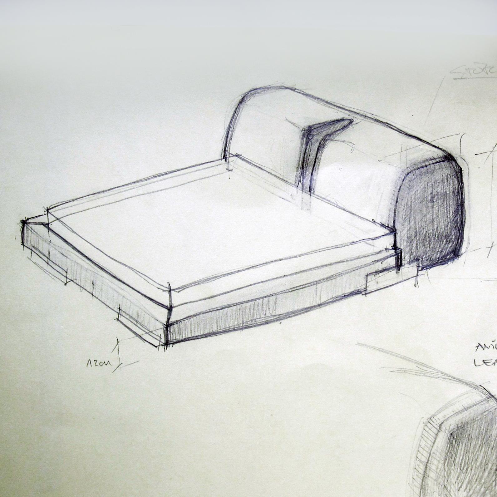 1592x1592 Low Leather Bed Design Elina Busmane Blog