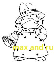 175x210 Max And Ruby Coloring Pages With Coloring Pages Max And Ruby