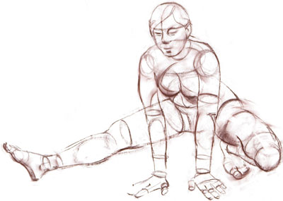 400x285 How To Draw The Human Figure By Robert Barrett