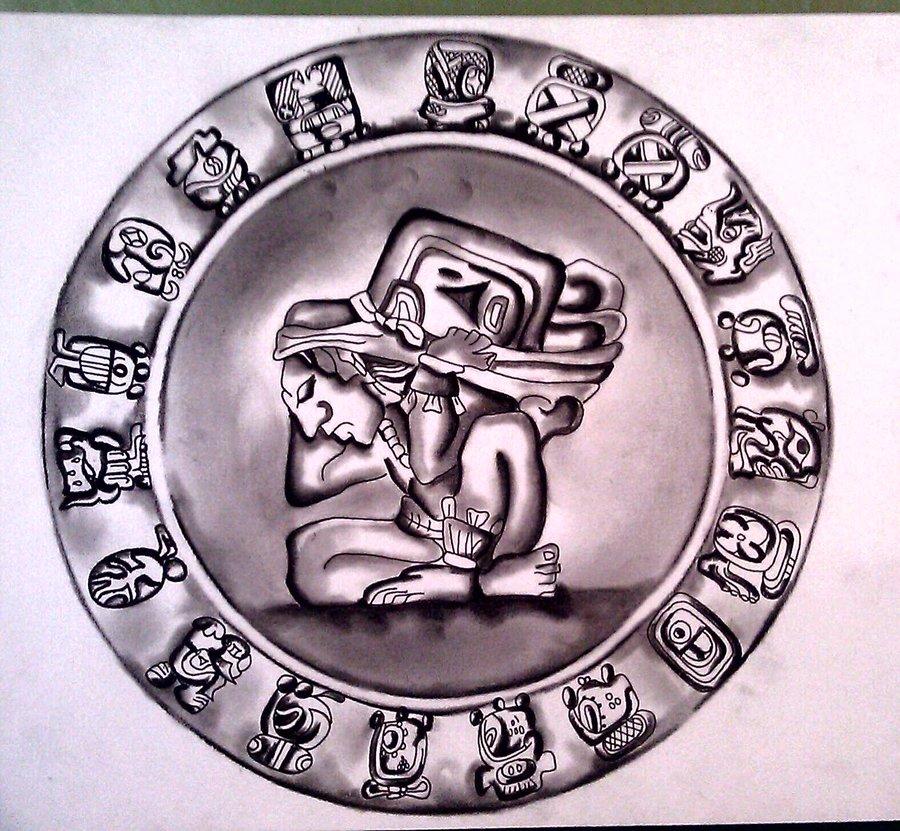900x831 Mayan Calendar 2. By Albavalerdi