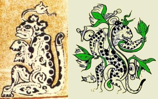 515x324 Mayan Drawing Depicting Wat