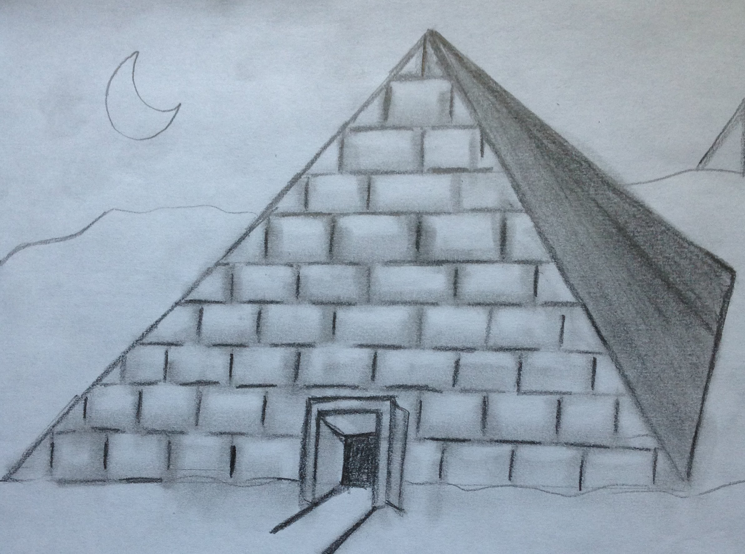 Mayan Pyramid Drawing at GetDrawings.com | Free for personal use ...