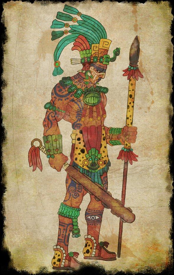 590x930 Maya Warrior By Praetor68