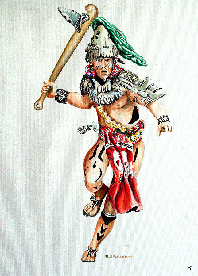 Mayan Warrior Drawing At Getdrawings Com Free For Personal Use