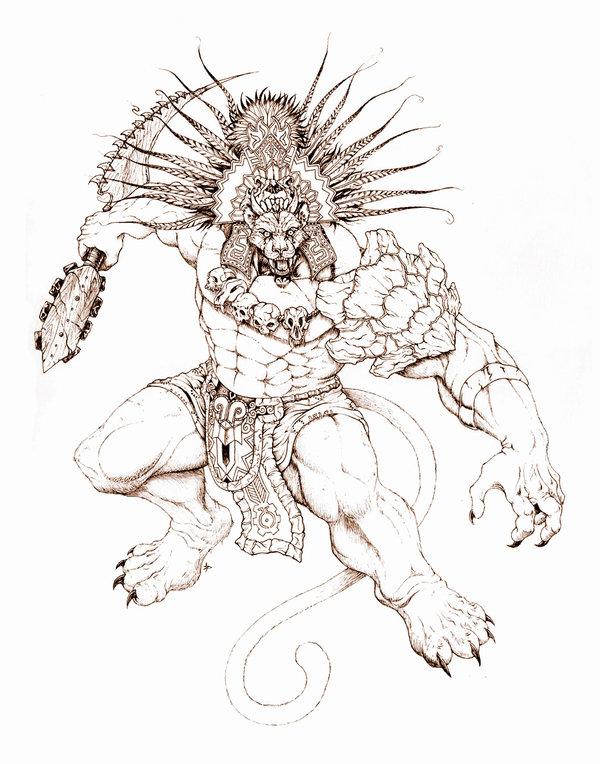 600x764 Wildcat Warrior Chief By Edcomics