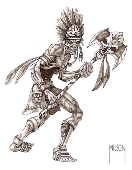 448x576 Zombie Warrior By Jwilsonillustration