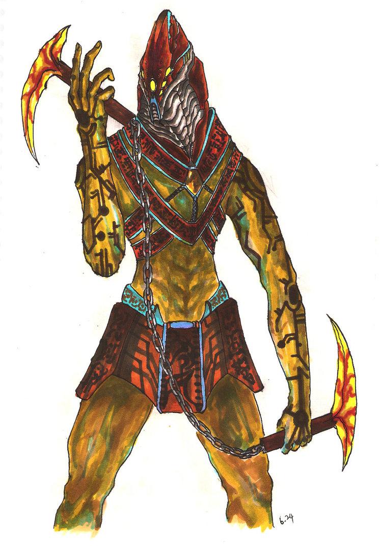 746x1072 Mayan Warrior By Casa4563